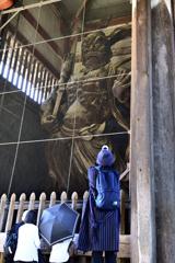 東大寺の門番