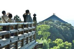 東大寺二月堂からの眺め(3)