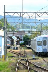 終着駅(水間観音)