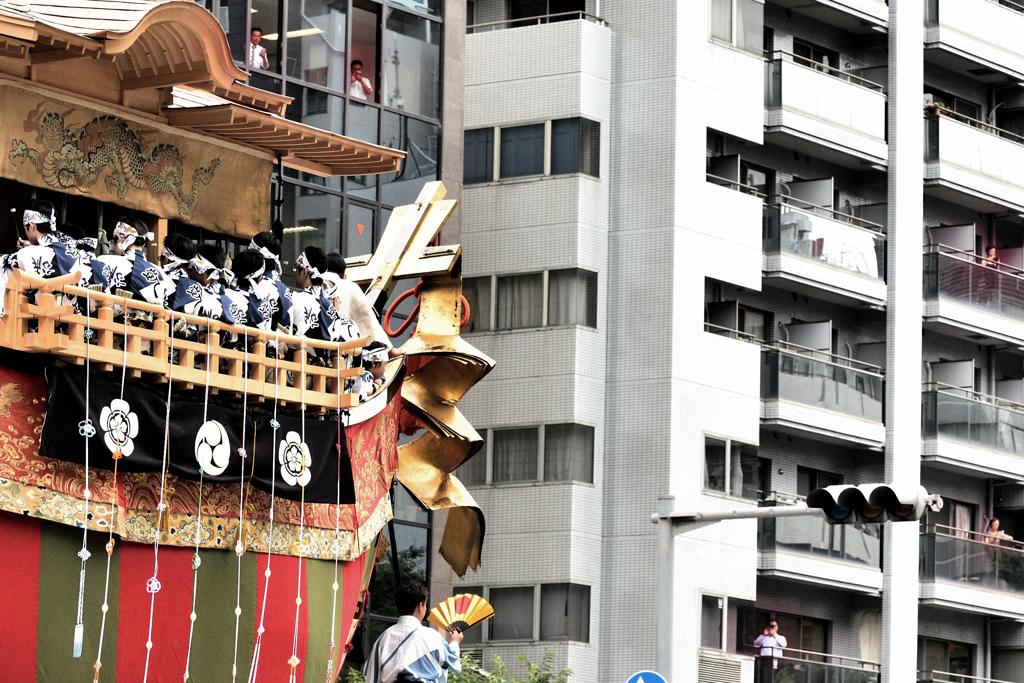 特等席ー2(大船鉾)