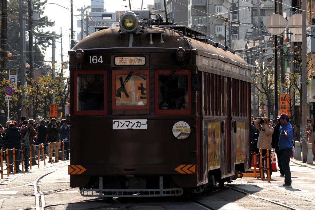 最古参のチンチン電車