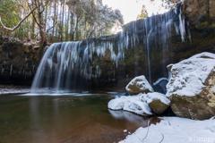 鍋ケ滝 冬景色 3