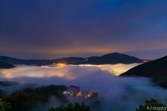 湯布院 雲海