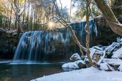 鍋ケ滝 冬景色