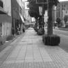 静かな歩道