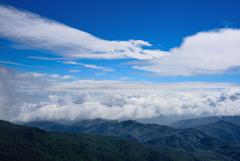 もこもこ雲