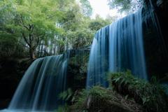 春の鍋ケ滝