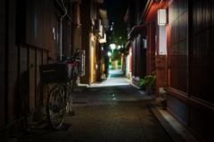 夜の主計町