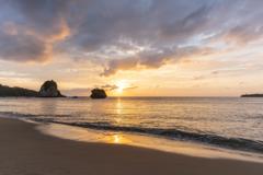 トゥドゥマリ浜夕景