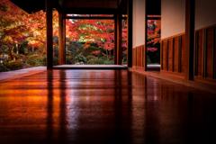 秋の源光庵2