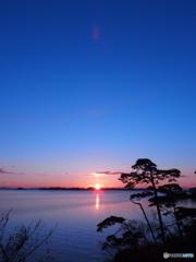 松島の朝陽3