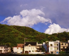 春の雲(写真句)