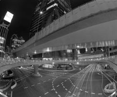 渋谷駅東口歩道橋