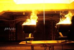 Art is like a burning flame