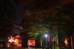 夜の華厳寺