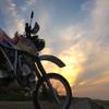 単車のある夜明けの風景 5