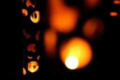 竹灯りの宵3