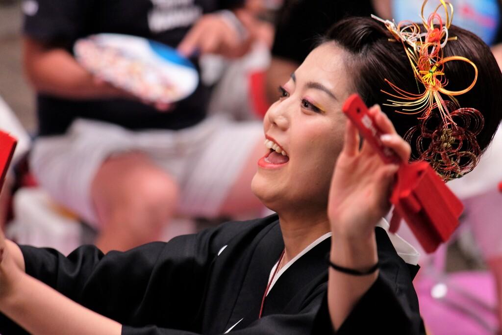 2019よさこい祭りの踊り子たち 30