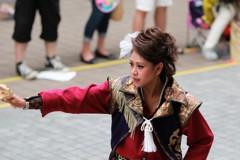 よさこい祭り 踊り子(1)