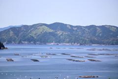のどかな漁村の風景