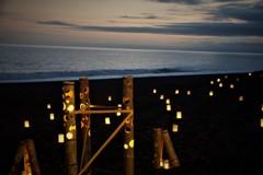 竹灯りの宵2
