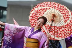 よさこい祭り 踊り子(8)