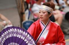 よさこい祭り 踊り子(7)