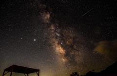 星降る夜…ペルセウス流星群