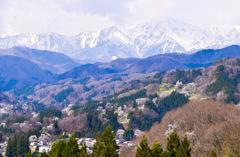 日本でもっとも美しい村のひとつ