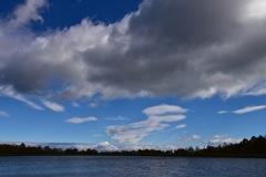 雲海の上の空