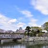 青空に映える姫路城4