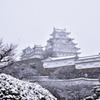 雪!姫路城