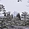 雪!姫路城7