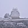 雪!姫路城3