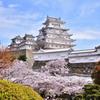 青空に映える姫路城1