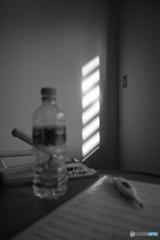 病室内に差し込む光