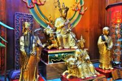 獅子座地蔵~台湾 Jizō Statue