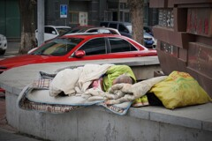 長春の路上生活~中国  Issue of Homelessness