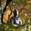 紅葉光背~仏教彫刻 Eisho-in Amitābha Statue