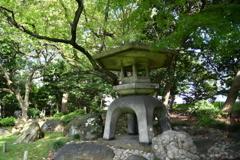 旧岩崎邸 石燈籠