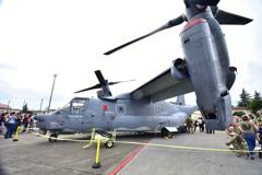 在日米空軍 横田基地日米友好祭 フレンドシップ・フェスティバル2019 オスプレ
