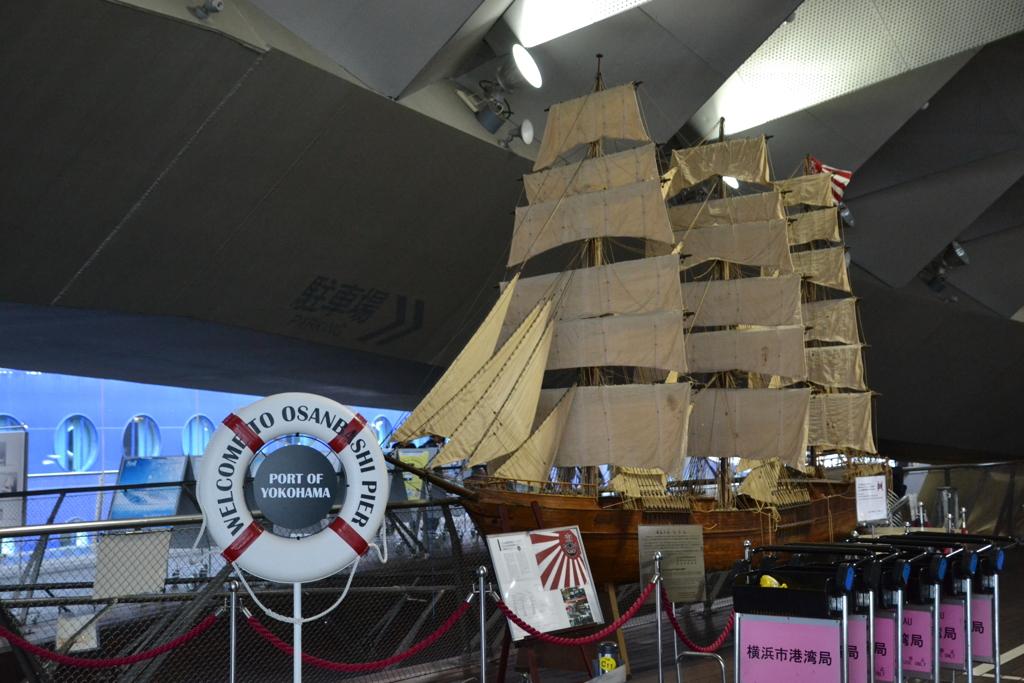 北米丸 横浜港大さん橋国際客船ターミナル