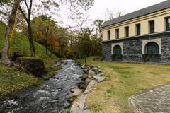 諸橋近代美術館と紅葉#2