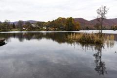 檜原湖の紅葉