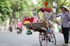 Hanoiの街角