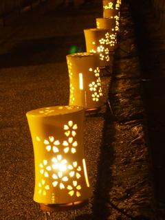 京都・東山花灯篭