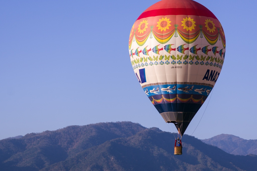 琵琶湖横断熱気球大会