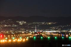 千里川夜景