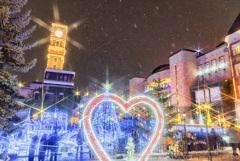 煌めく北国の冬