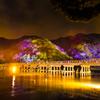 渡月橋light up ver. ~京都・嵐山花灯路より~